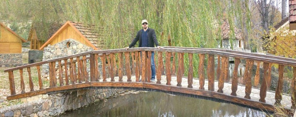 Amir Khatibzadeh visiting Armenia